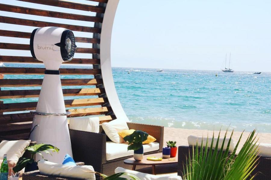 Brumisateur haut de gamme, Cannes Lions, ile de La Réunion