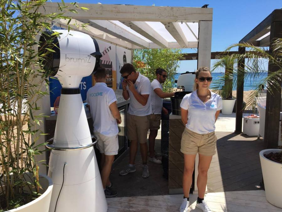 Brumisateur Brumiz, solution ecologique à La Réunion