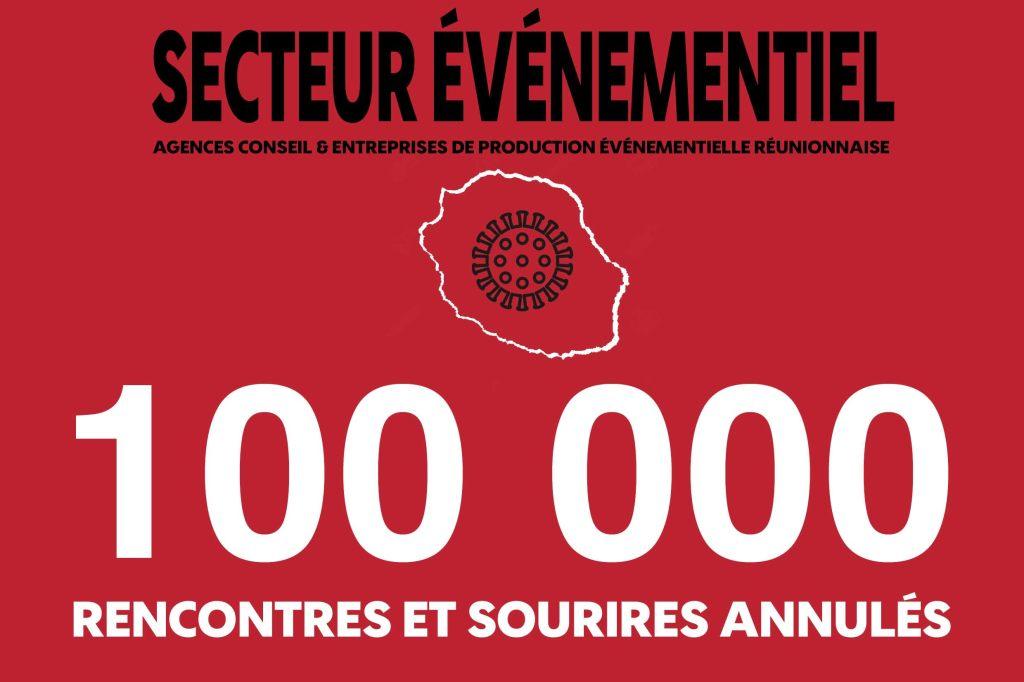 A cause de la la crise du #COVID19 , plus de 100 000 rencontres et sourires ont été annulés  #Brandetconsultant #evenementiel974 #LaRéunion